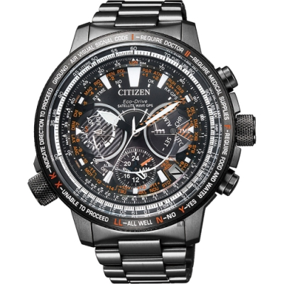 CITIZEN PROMASTER 30週年鈦 GPS衛星對時手錶(CC7015-55E)