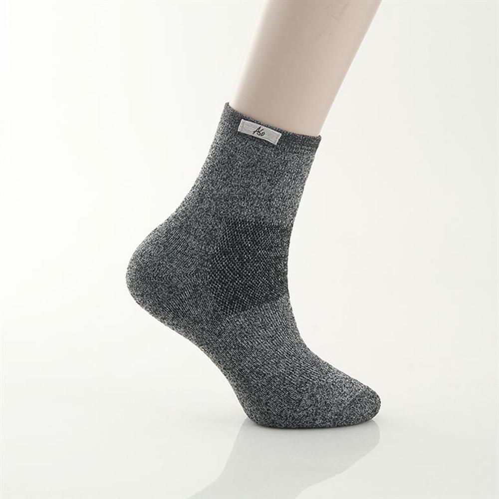 A.S.O 運動系列-勁能挑戰襪-加大版 深灰