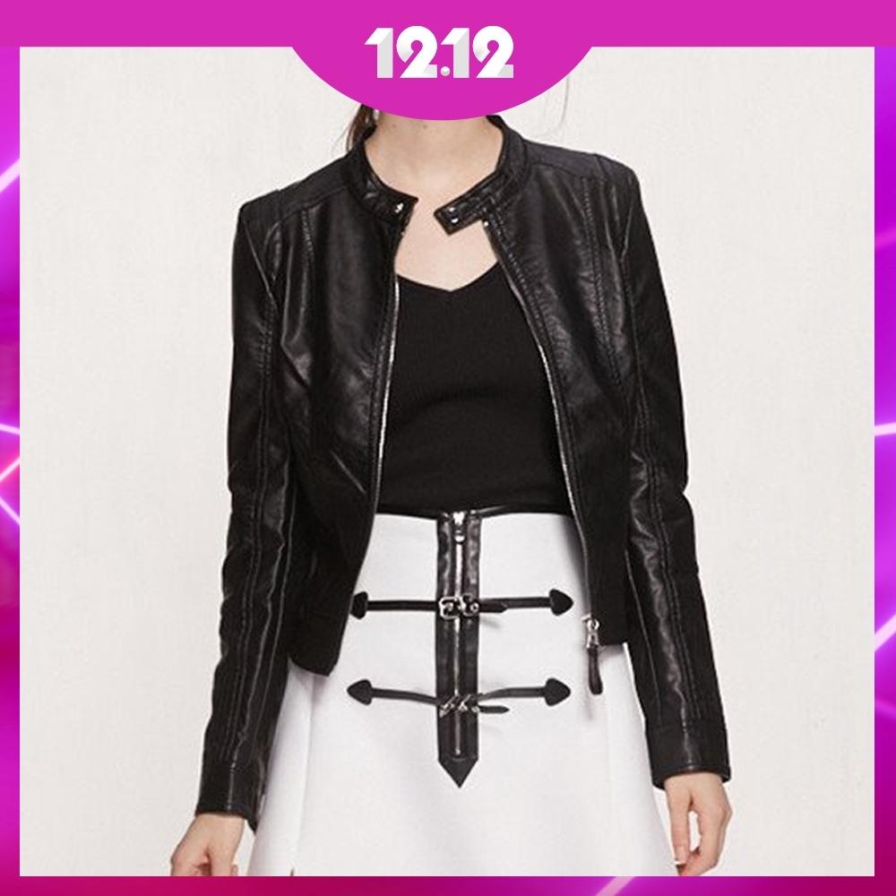 [時時樂]全尺碼英倫風質感皮衣外套特輯 均一價$1212 (3款)