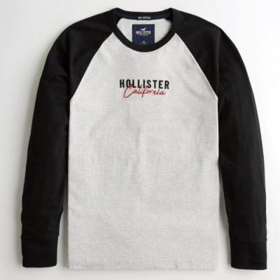 Hollister HCO 長袖 T恤 灰色  1426