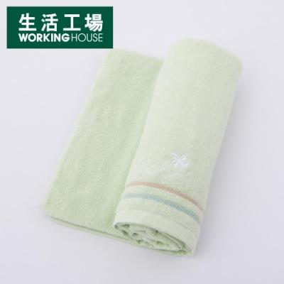 【限量商品*加購中-生活工場】Clover有機棉浴巾-植綠