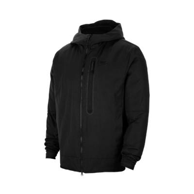 Nike 外套 Repel Hooded Jacket 男款 NSW 運動休閒 連帽外套 保暖 輕便 黑 灰 CU4486010
