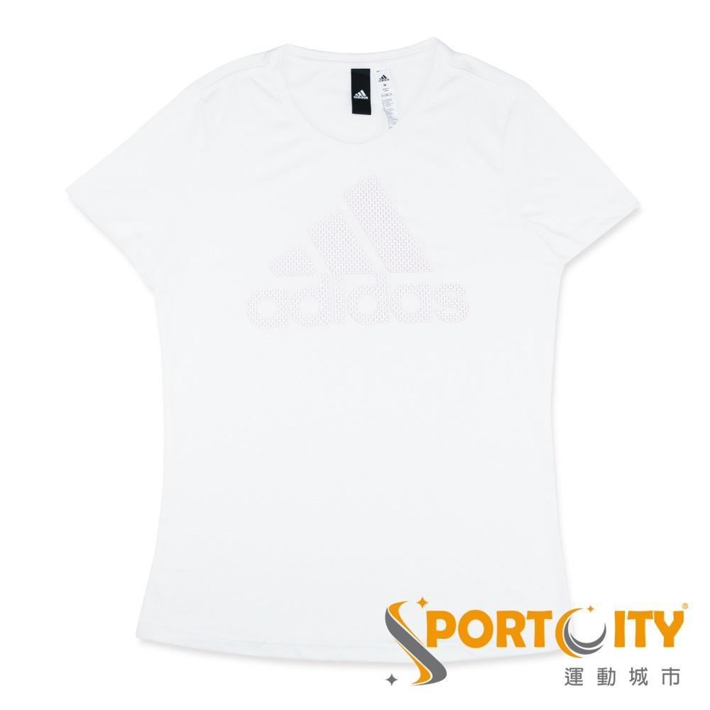 ADIDAS 女 短袖上衣 CV4589 白