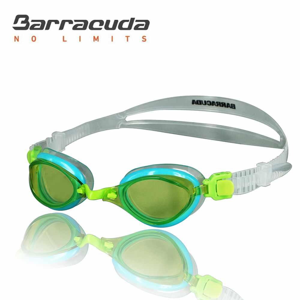 巴洛酷達 兒童競技型抗UV防霧泳鏡 Barracuda FENIX JR #73855