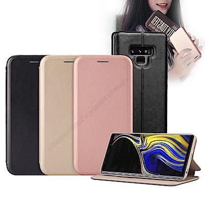 XUNDD 三星 Samsung Galaxy Note9 經典皮紋支架磁力皮套