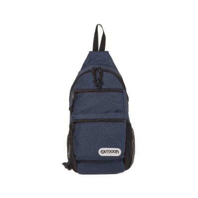【OUTDOOR】街頭滑行-單肩包-深藍色 OD101106NY