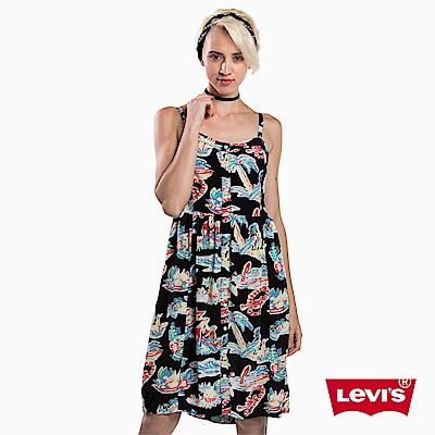 Levis 連身洋裝 女裝 花紋印花