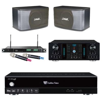 金嗓A5+FNSD A-350+SK-8610+ACT-589(伴唱機 4TB+卡拉OK套組)