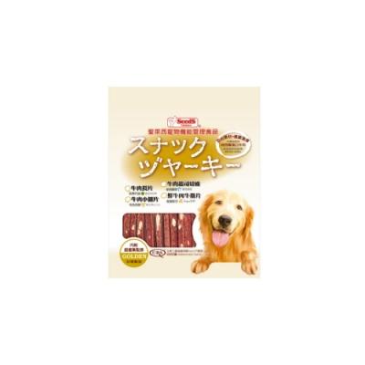 SEEDS聖萊西-寵物機能管理食品黃金系列-牛肉起司切條 260g (BCJ-260)
