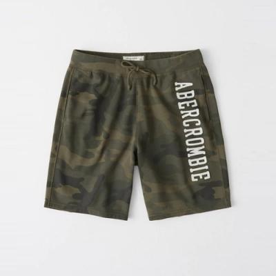 AF a&f Abercrombie & Fitch 短褲 迷彩綠 1336