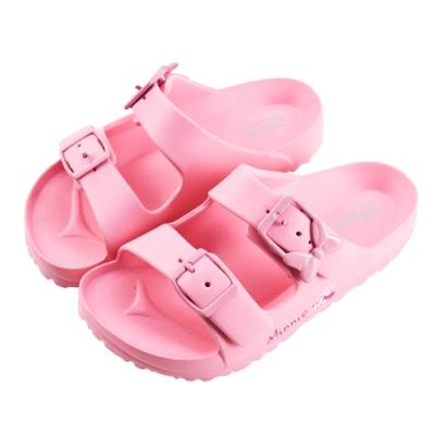 迪士尼童鞋 米妮 輕量防水拖鞋-粉(柏睿鞋業)