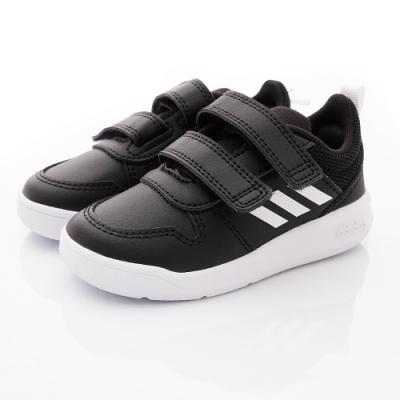 adidas童鞋 雙絆帶皮質學步鞋 ON102黑(寶寶段)