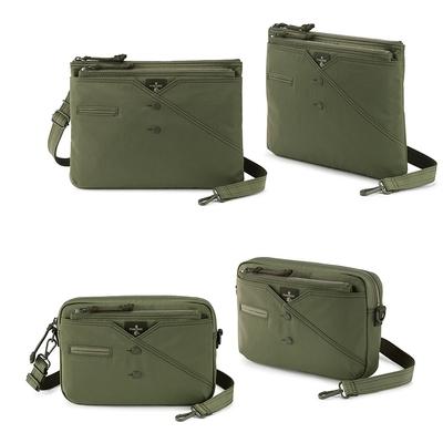 [時時樂]PORTER - 紳士品味CUFF(N)綠色斜背包任選 - 原價4150元