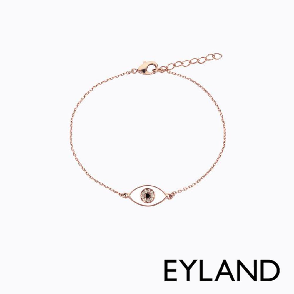 Eyland英國倫敦 ARAFURA 水晶玫瑰金手鍊