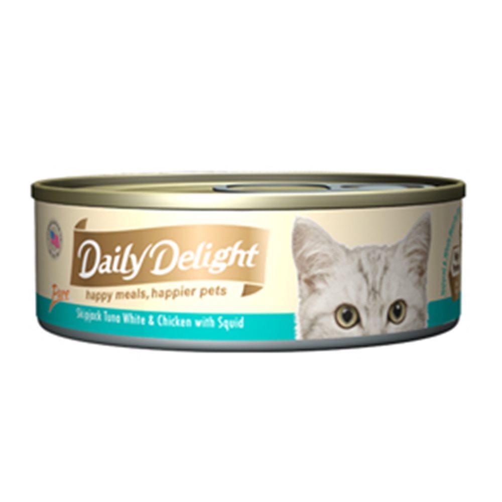 Daily Delight爵士貓吧-真愛鮮肉餐80g(24罐組)