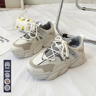 韓國KW美鞋館-浪漫都會摩登老爹鞋(輕量 運動鞋 休閒鞋)(共2色)