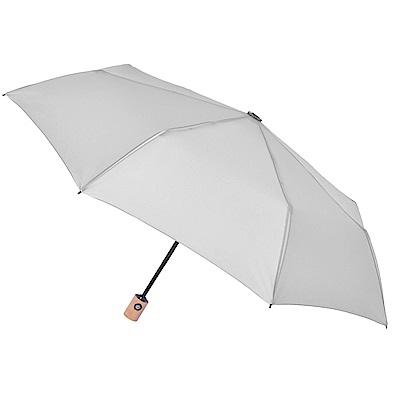2mm 清新淡雅通勤自動開收傘 (灰色)