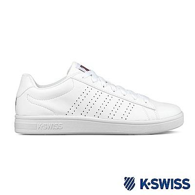 K-swiss Court Casper S休閒運動鞋-男-白