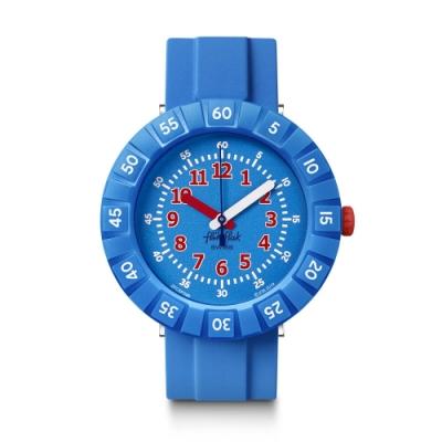 FlikFlak 兒童錶 BLUE MY MIND 閃亮兔兔-36.7mm