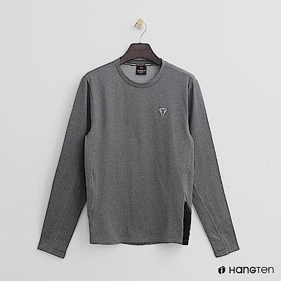 Hang Ten -男裝-ThermoContro-休閒質感舒適機能系列上衣-灰