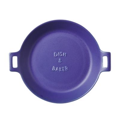 日本 MEISTER HAND TOOLS 圓形烤盤L-藍色