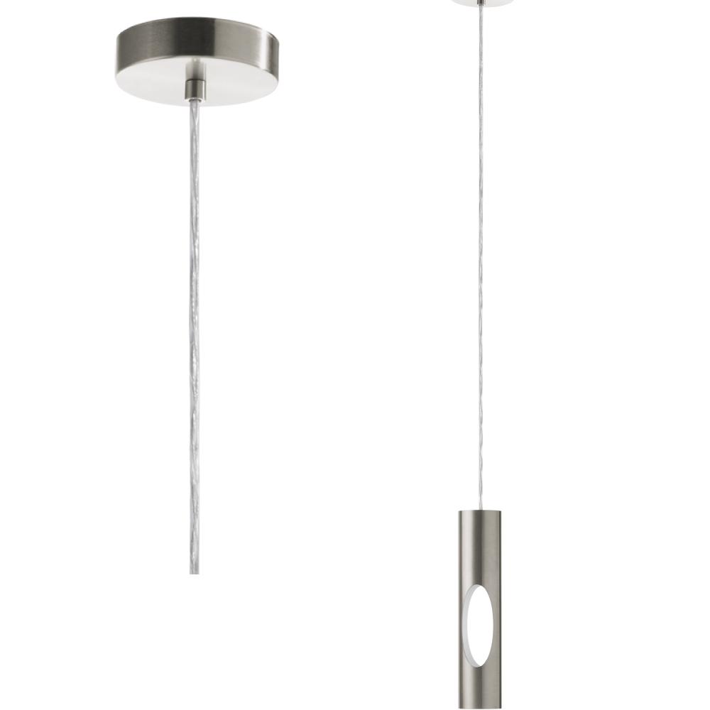 EGLO歐風燈飾 現代銀單燈式LED吊燈(不含燈泡)