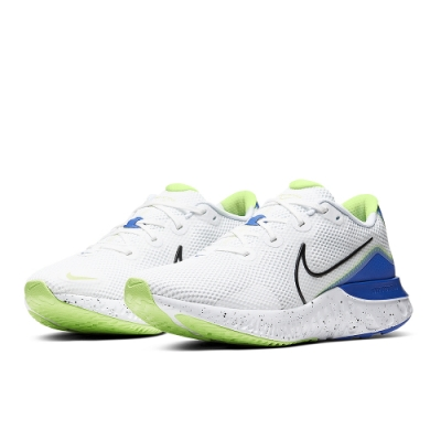 NIKE 休閒 運動 健身 慢跑鞋 男鞋 白藍 CW5844100 NIKE RENEW RUN