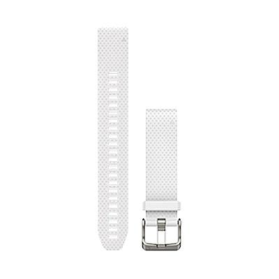 GARMIN QuickFit 20mm 大理石白矽膠錶帶