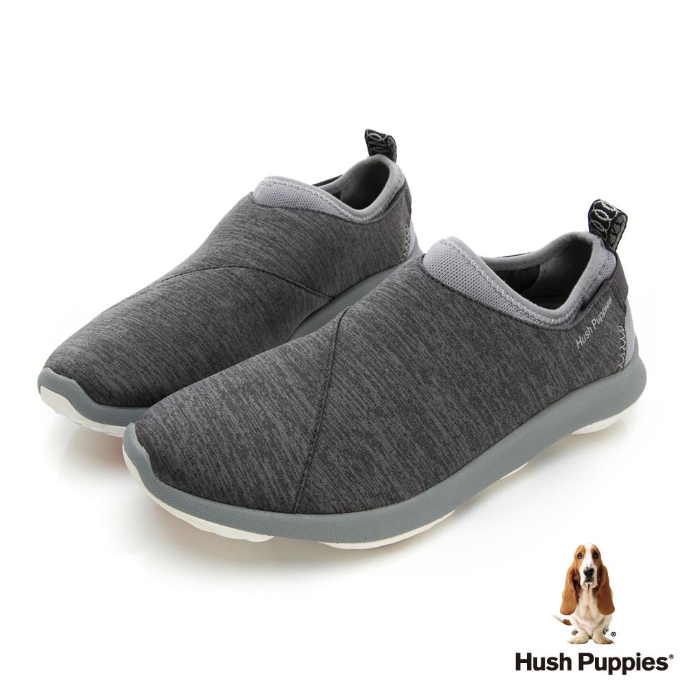 Hush Puppies Bounce Max 高效彈力休閒女便鞋-淺灰