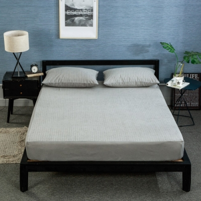 BUNNY LIFE 防水抑菌棉柔床包式保潔墊-雙人-4色可選