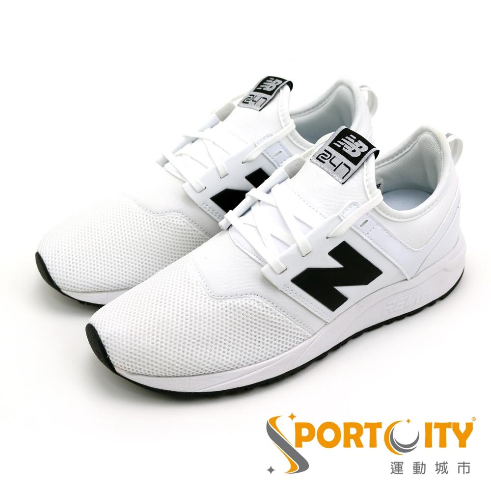 New Balance 男女慢跑鞋 MRL247WB-D 白