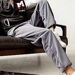 BuyGlasses 美式厚磅棉嘻哈素面棉長褲