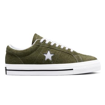 CONVERSE ONE STAR OX 低筒 休閒鞋 男鞋 女鞋 綠色 171585C