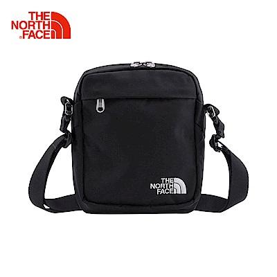 The North Face北面黑色舒適戶外運動單肩背包|3BXBC4V
