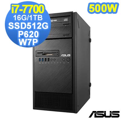 ASUS ESC500 G4 7代 i7 Win7 Pro 直立式繪圖工作站