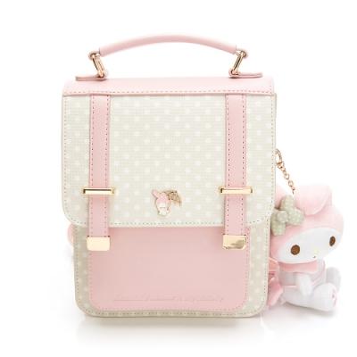 Melody聯名- 後背包-可斜背 泡泡派對系列-粉色