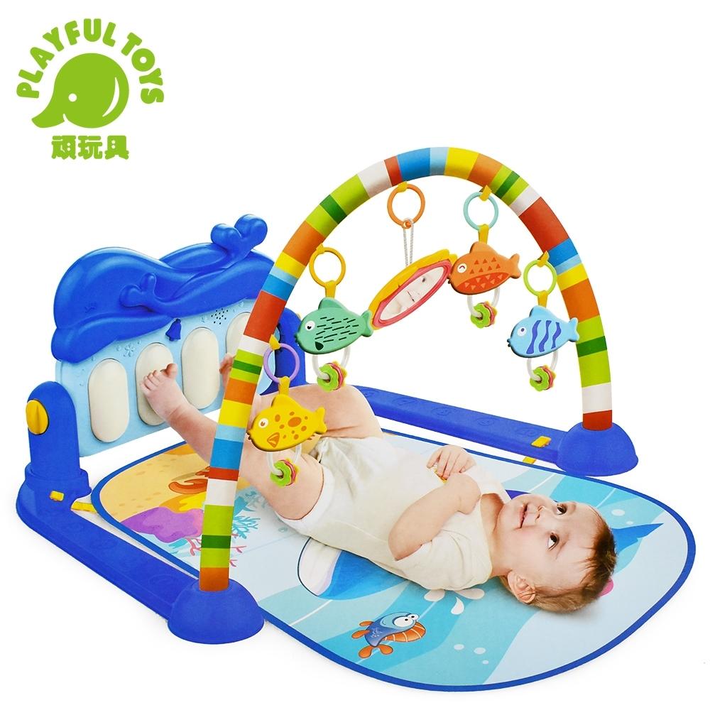 Playful Toys 頑玩具 海豚音樂腳踏琴(聲光音效)