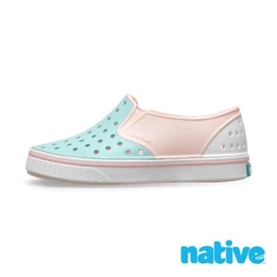native 小童鞋 MILES 小邁斯鞋-櫻花粉x濕地藍