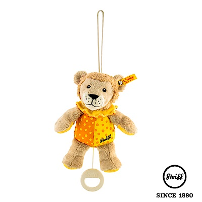 STEIFF德國金耳釦泰迪熊 獅子 Baby (嬰幼兒音樂鈴)