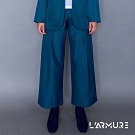 L'ARMURE 女裝 Ultra-Light側條裝飾寬褲 (湛藍色)