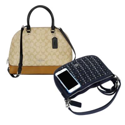 [時時樂] COACH 實用手提/斜背兩用包款均一價3579元