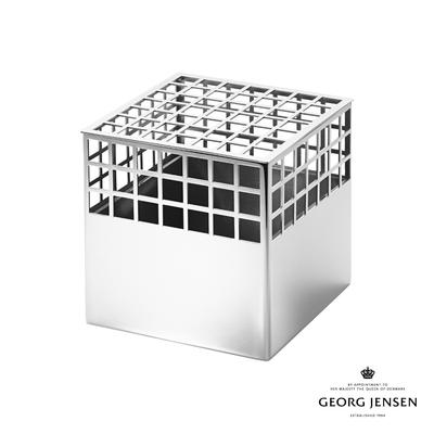 Georg Jensen 喬治傑生 MATRIX 不鏽鋼花瓶,中