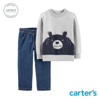 Carter s台灣總代理 微笑熊熊2件組套裝