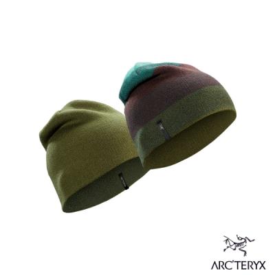 Arcteryx 始祖鳥 Charleson 羊毛 雙面針織毛帽 銀河藍