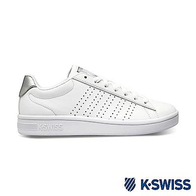 K-SWISS Court Casper S休閒運動鞋-女-白/銀