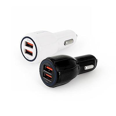 RONEVER PE013 QC3.0 USB雙孔車用充電器
