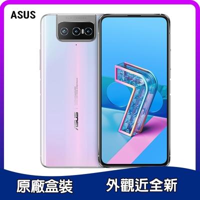 【福利品】ASUS ZenFone 7 Pro ZS671KS(8G/256G) 6.67吋翻轉三鏡頭手機