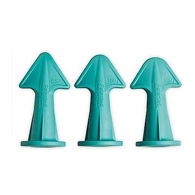 金德恩 台灣專利 台灣製造 DIY好用矽利康矽膠噴嘴刮刀頭(1盒3款)
