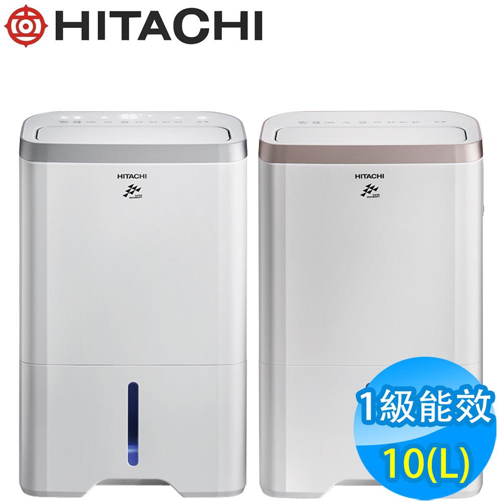 HITACHI日立 10L 1級LED觸控負離子清淨除濕機 RD-200HS/HG