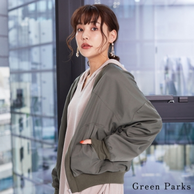 Green Parks 輕感羅紋立體剪裁夾克外套